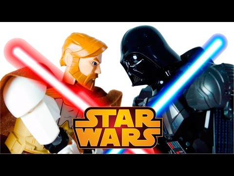 LEGO Star Wars 75111 Darth Vader vs 75109 Obi Wan Kenobi