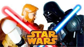 LEGO Star Wars Toys 75111 Darth Vader vs 75109 Obi Wan Kenobi Stop Motion Cartoon VIDEO FOR CHILDREN(LEGO Star Wars Toys 75111 Darth Vader vs 75109 Obi Wan Kenobi Stop Motion Cartoon VIDEO FOR CHILDREN ..., 2015-12-12T11:04:58.000Z)
