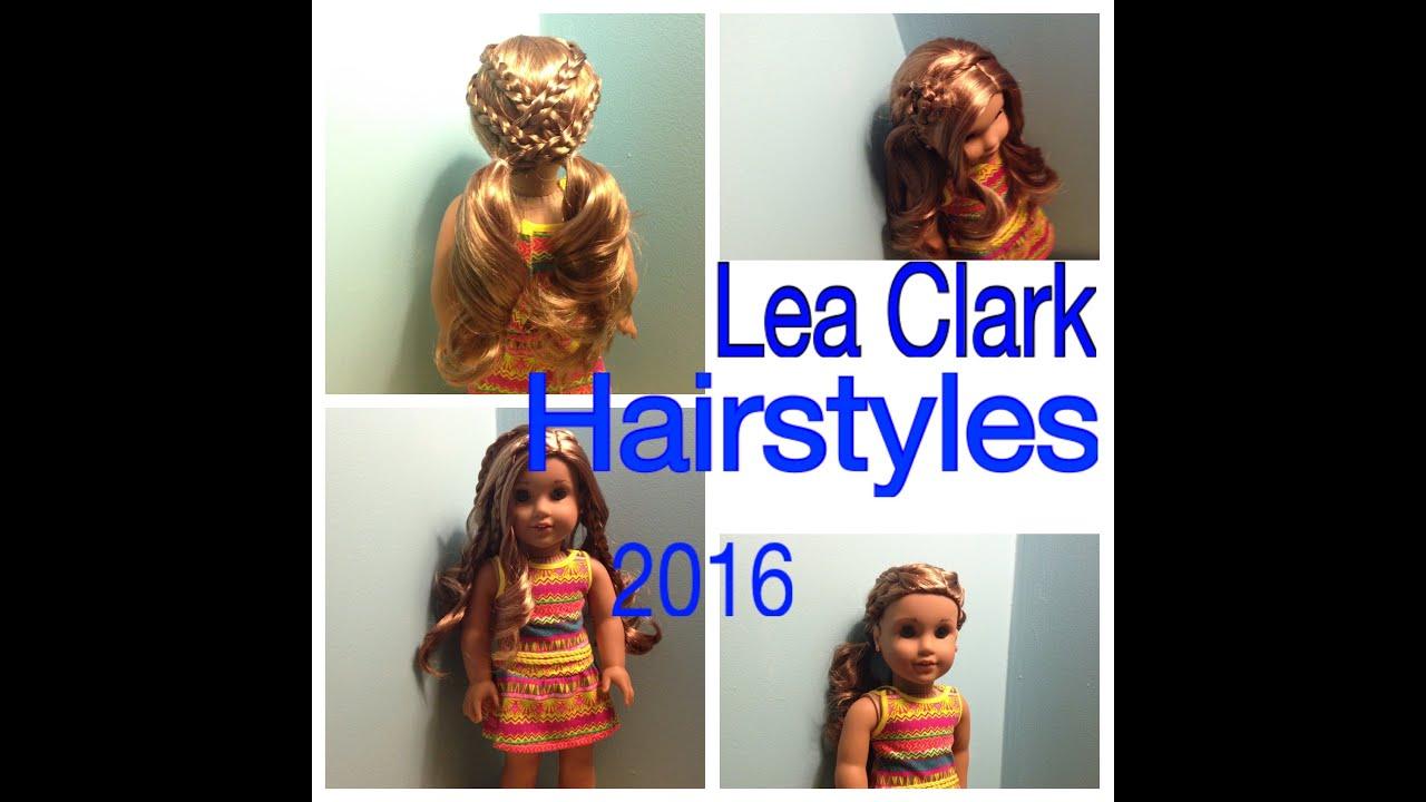 American Girl Doll Hairstyles Lea Clark 2016