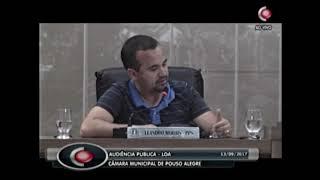 Vereadores discutem Lei Orçamentária Anual em Audiência Pública