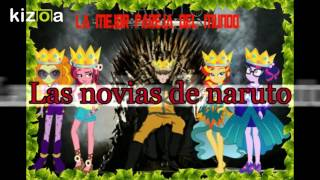 Las Novias de Naruto y sus Familias y amigos y amigas