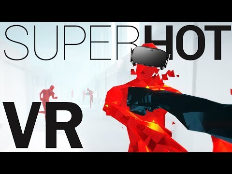 Dodging Bullets and Freezing Time! - SUPERHOT VR Gameplay - Oculus Rift VR - Virtual Reality
