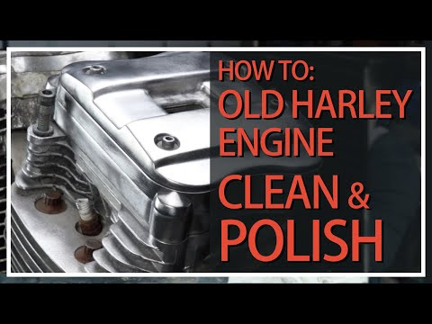 Cleaning Up the Sportster Engine