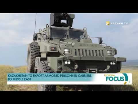 Kazakhstan to export armored personnel carriers to Middle East