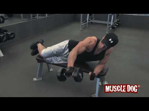 MuscleDog.com: Lying One Arm Lateral Raise