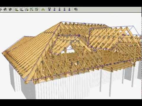 Valmtak konstruksjon
