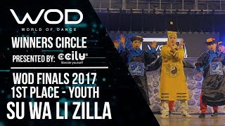 Su Wa Li Zilla | 1st Place Upper | Winner's Circle | World of Dance Finals 2017 | #WODFINALS17