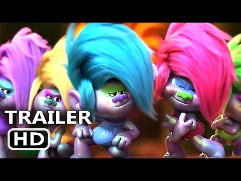 TROLLS 2 Trailer # 4 (NEW 2020) Trolls World Tour, Animation Movie HD