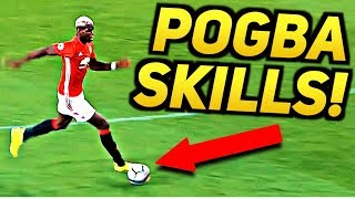 POGBA FOOTBALL SKILLS TUTORIAL - Learn EPIC Freestyle Trick Fast! ★