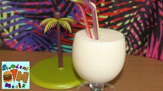 Student Mealz - How To Make Pina Colada Smoothie (non Alcoholic)