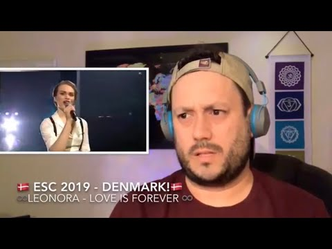🇩🇰 ESC 2019 Reaction to DENMARK!🇩🇰