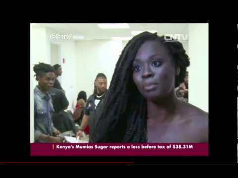 AFRICA FASHION WEEK  NEW YORK ON CCTV NEWS  | United States, Europe, South Africa,