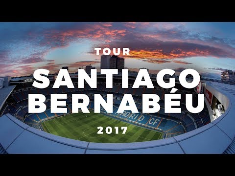 Tour Santiago Bernabéu 2017 - Real Madrid Stadium