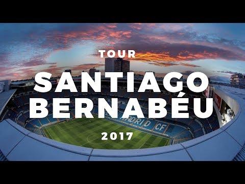 Tour Santiago Bernabéu 2017 - Real Madrid Stadium