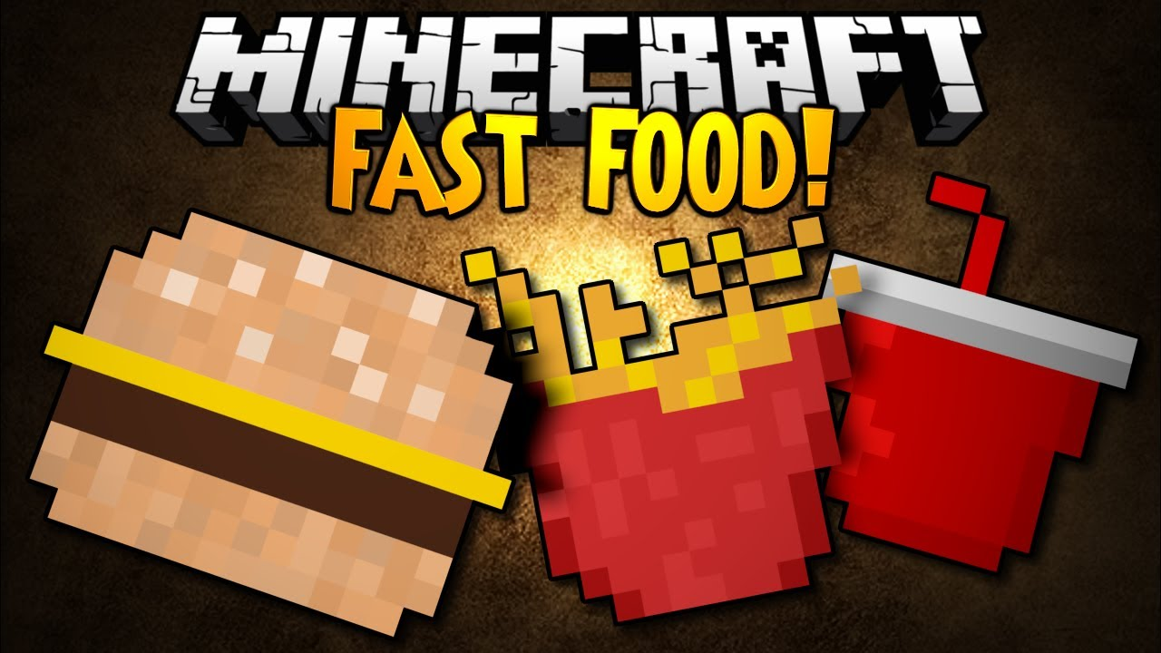 Minecraft Fast Food Mod