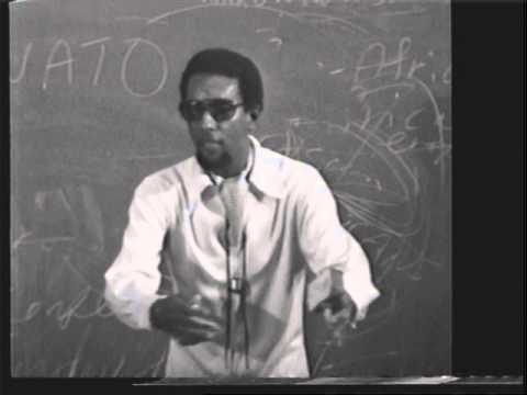 Stokely Carmichael Lecture at Howard University, 1972