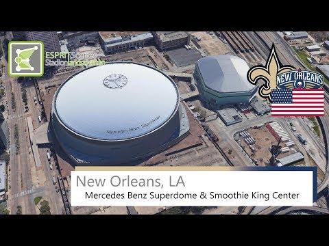 New Orleans, LA - Mercedes Benz Superdome & Smoothie King Center / 2016