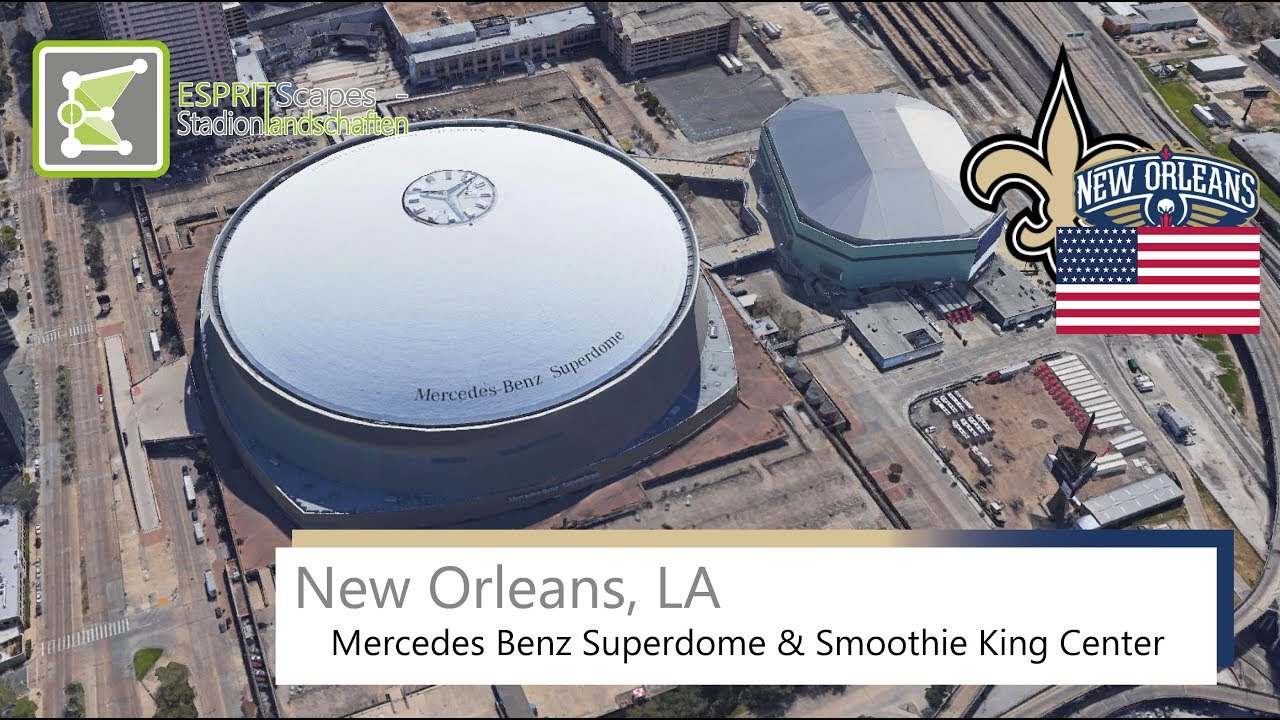 New Orleans, LA   Mercedes Benz Superdome U0026 Smoothie King Center / 2016