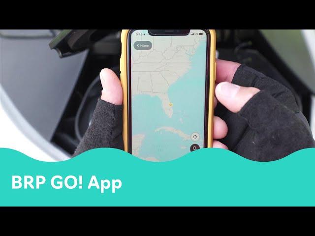 The New Sea-Doo BRP GO! App