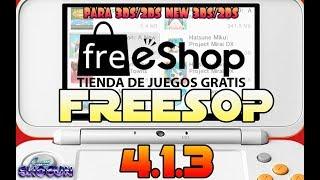 Freeshop 4.1.3 actualización 3dsx y cia  solución al error de que no encuentra las llaves de titulos