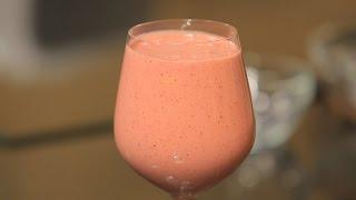 سموذي الفراولة و زبدة الفول السوداني | شريف الحطيبي