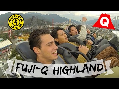 Fuji-Q Highland Theme Park | Workout at Gold's Gym Tokyo | Japan - VLOG #19
