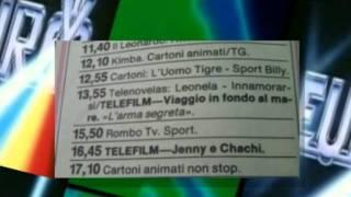 Palinsesto di Euro tv del 1986