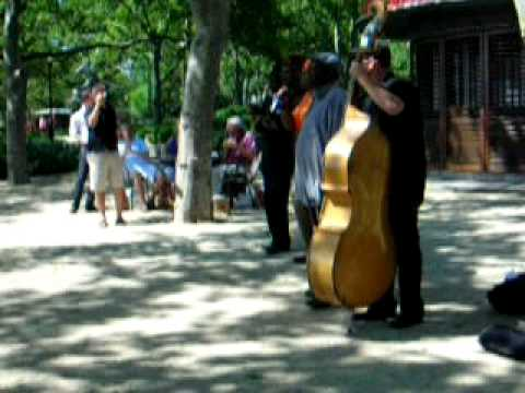 """""""Wonderful World"""" by Sam Cooke in Battery Park"""