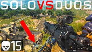 Blackout | Aggressive Solo Plays in Duos 15 kills! (Black Ops 4)