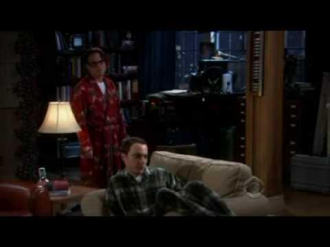 Sheldon Cooper drogado