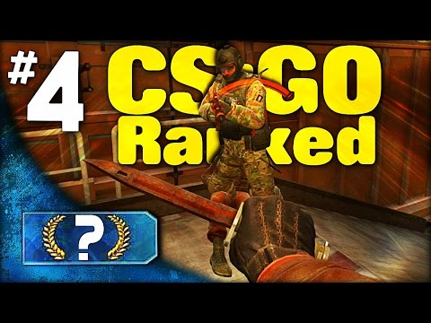 KNIFE HIM! │Road to Getting Ranked│#4 (CS GO Competitive)