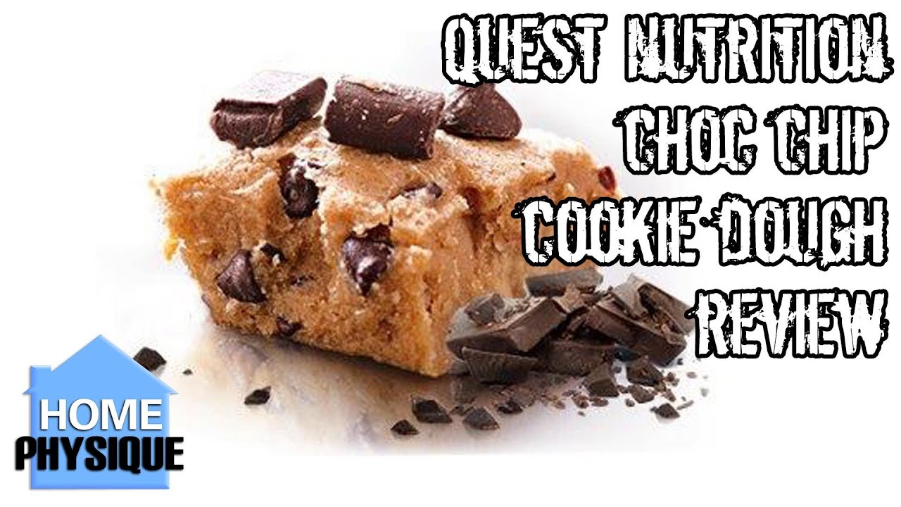 Quest Bar Chocolate Chip Cookie Dough Review