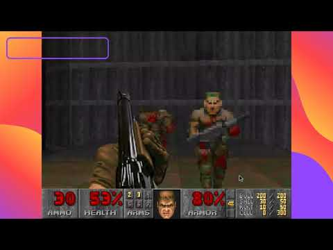The best classic Doom Game! (from the early 90s!) Pure Gameplay! |