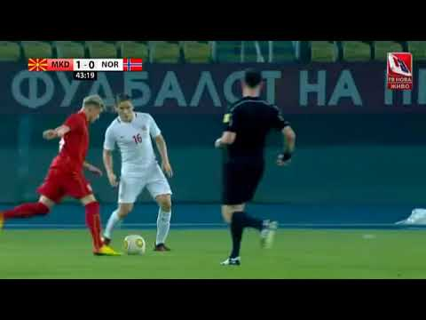 MACEDONIA - NORWAY 1-0 (Goal by Goran Pandev)