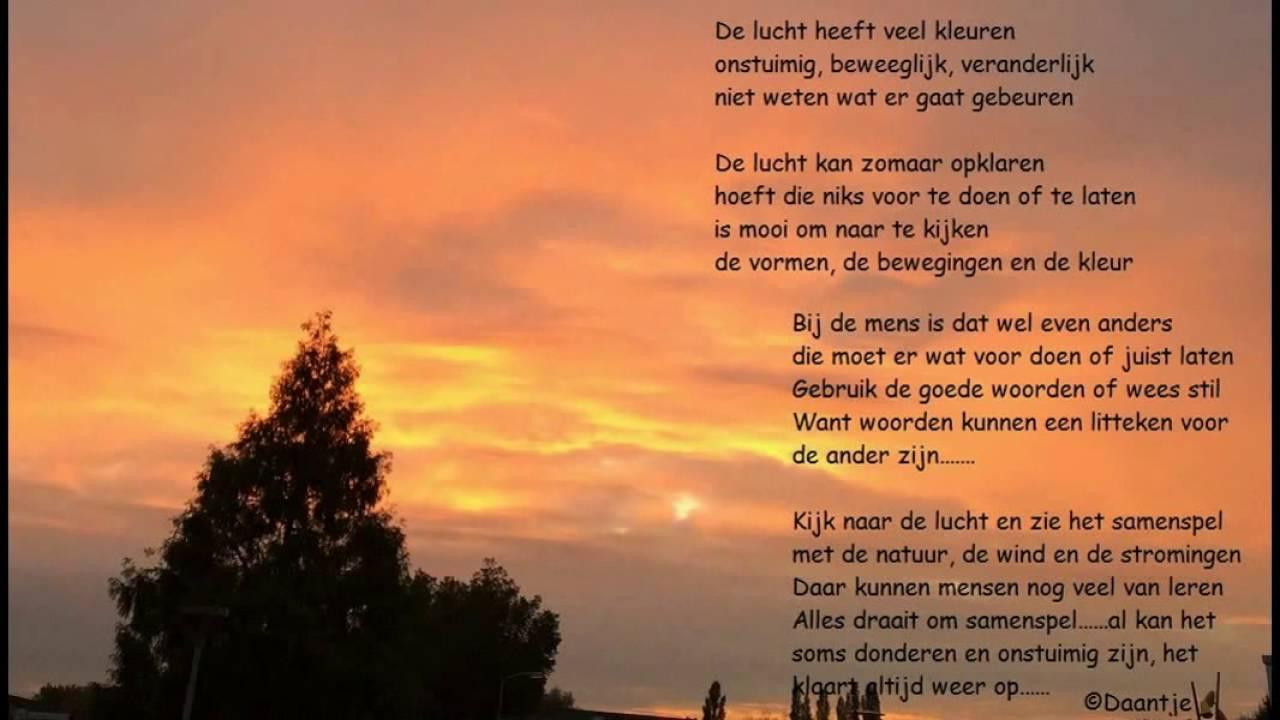 Geliefde Gedichten over muziek, lucht en liefde - YouTube #CX61