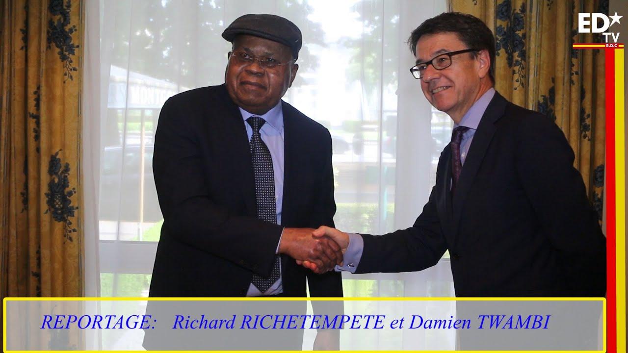 E. TSHISEKEDI REÇOIT KOEN VERVAEKE DIRECTEUR DE LA DIPLOMATIE EUROPÉENNE POUR L'AFRIQUE.