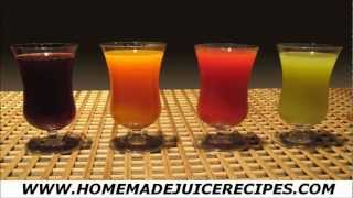 Learn Juicing Recipes