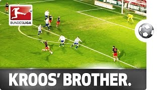 Toni kroos' younger brother nets goal of the week