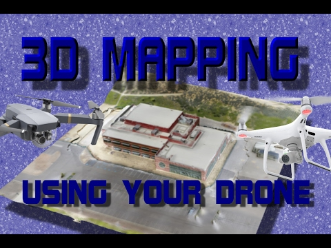 DJI Mavic Pro / Platinum and Phantom - Make Free 3D Maps Using DroneDeploy App