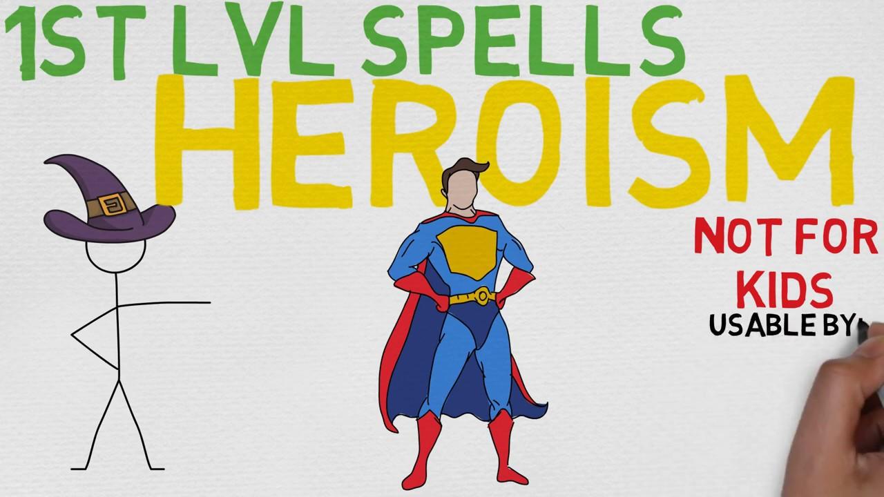 Download 1st Level Spell #45: Heroism (5E)