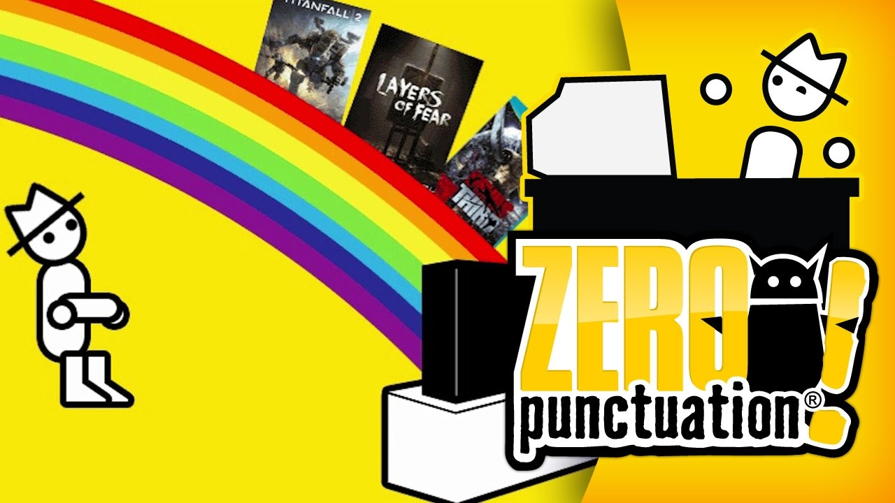 Top 5 Games of 2016 (Zero Punctuation)