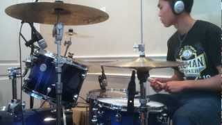 White Flag - Passion Ft. Chris Tomlin (Drum Cover)