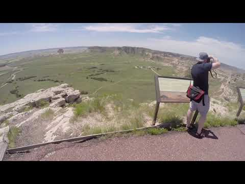 A Visit to Scotts Bluff National Monument, Scottsbluff, Nebraska
