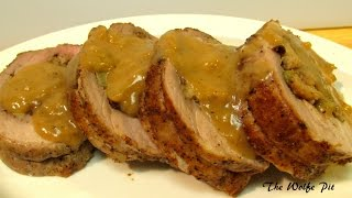 Stuffed Pork Loin Recipe - How to Butterfly and Stuff Pork Loin