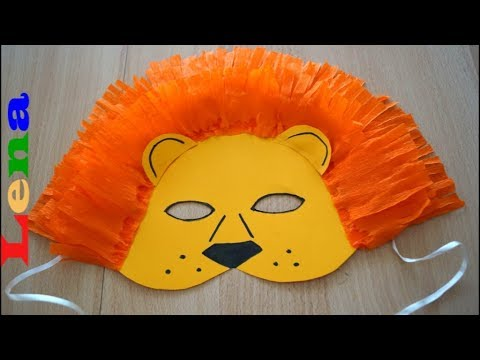 Löwen Maske Basteln