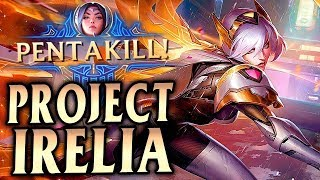 Irelia Mid Lane Gameplay - Patch 9.17 (League of Legends Gameplay)