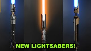 New Lightsabers Revealed! - Jedi Fallen Order