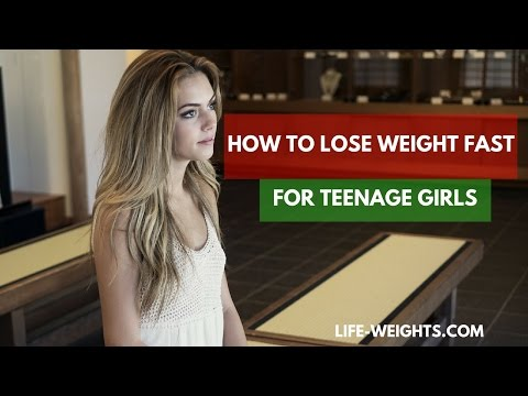How to Lose Weight Fast for Teenage Girls – 7 Steps