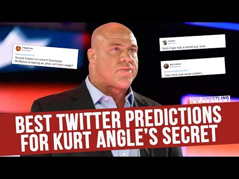 Best Twitter Predictions For Kurt Angle's Big Secret