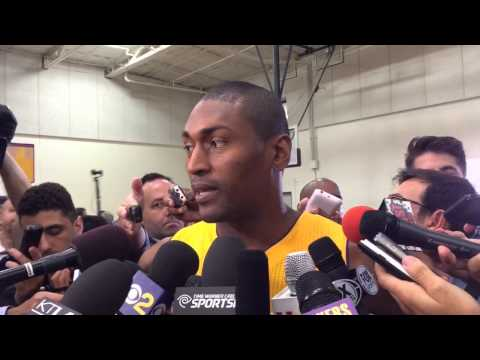 Metta World Peace talks about his Lakers return